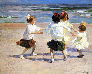 Edward Henry Potthast - Pothast Edward Ring around the Rosy