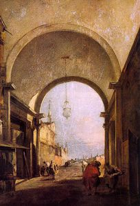 Francesco Lazzaro Guardi - untitled