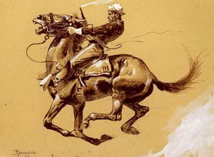 Frederic Remington - ugly