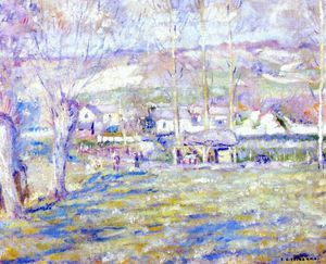 Frederick Carl Frieseke - giverny winter