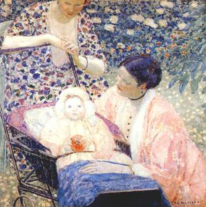 Frederick Carl Frieseke - the mother