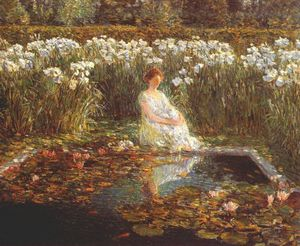 Frederick Childe Hassam - lilies
