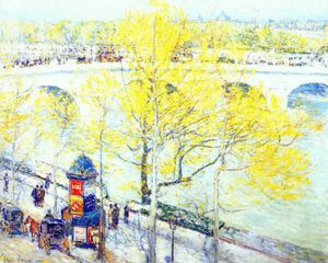 Frederick Childe Hassam - pont royal, paris