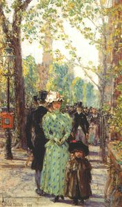Frederick Childe Hassam - sunday morning