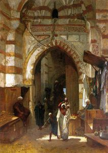 Frederick Goodall - the grand bazaar