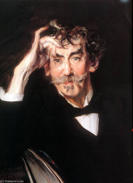 famous painting James Whistler detail Sun of Giovanni Boldini