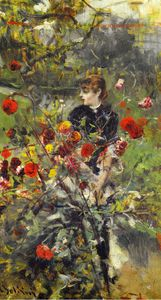 Giovanni Boldini - the summer roses