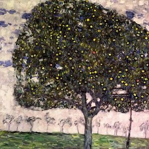 Gustav Klimt - the apple tree