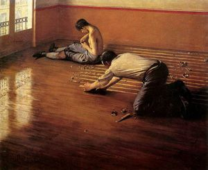 Gustave Caillebotte - The floor scrapers Sun