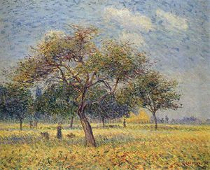 Gustave Loiseau - Apple Trees in October