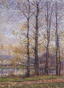Gustave Loiseau - By the Oise at Precy