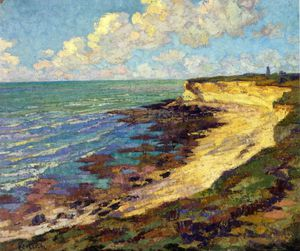 Gustave Loiseau - By the Sea