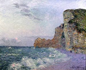 Gustave Loiseau - Cliffs in Normandy. Evening