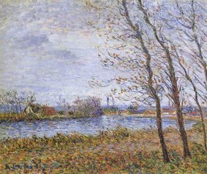 Gustave Loiseau - Port Pinche at the Turn of the Seine