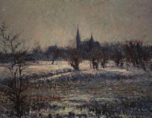 Gustave Loiseau - white frost