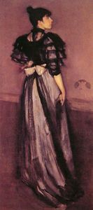 James Abbott Mcneill Whistler - Mother of Pearl and Silver The Andalusian