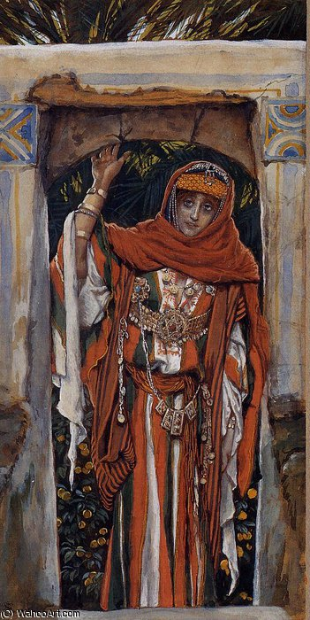 famous painting Mary Magdelane before Her Conversion of James Jacques Joseph Tissot