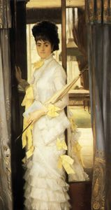 James Jacques Joseph Tissot - Portrait of Miss Lloyd