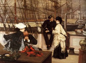 James Jacques Joseph Tissot - The Captain and the Mate