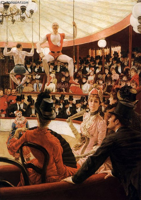 famous painting the sporting ladies of James Jacques Joseph Tissot