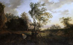 Jan Both - italian landscape