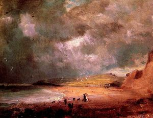 John Constable - weymouth bay
