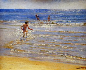 Peder Severin Kroyer - Sunshine at Skagen