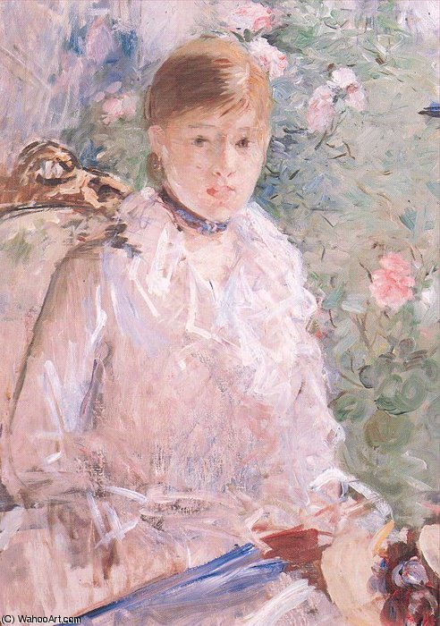 famous painting untitled (6526) of Berthe Morisot