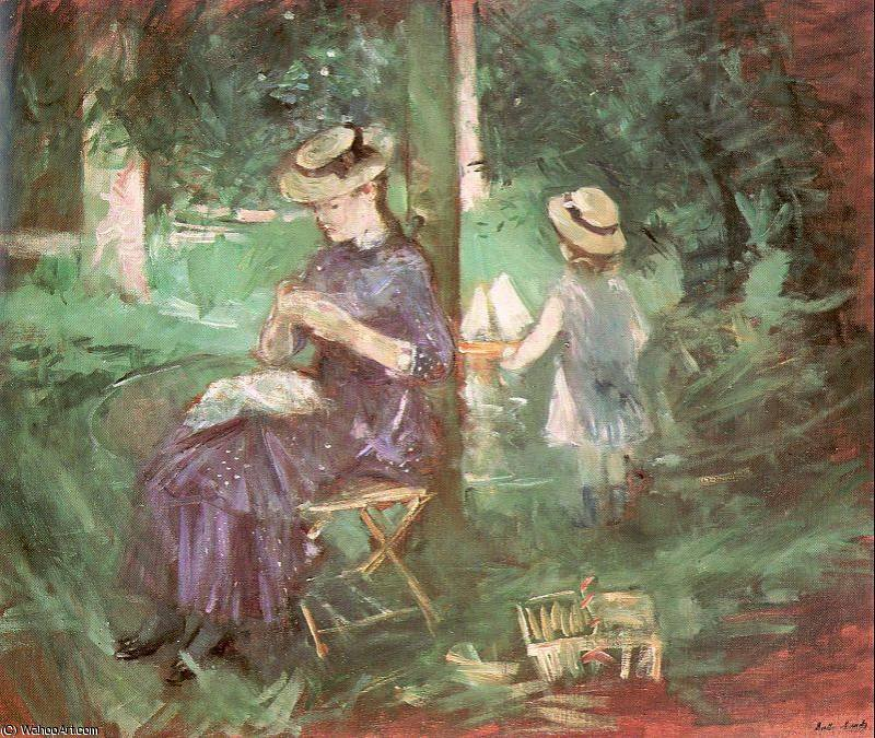 famous painting untitled (2945) of Berthe Morisot