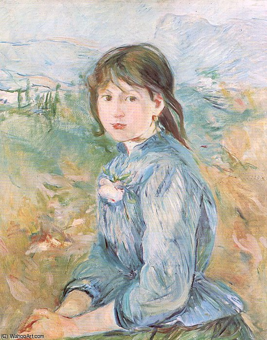 famous painting untitled (9406) of Berthe Morisot