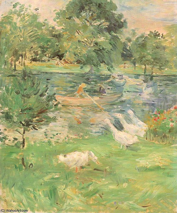 famous painting untitled (2469) of Berthe Morisot
