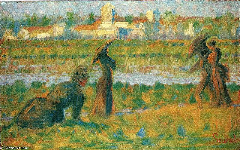 famous painting untitled (8739) of Georges Pierre Seurat