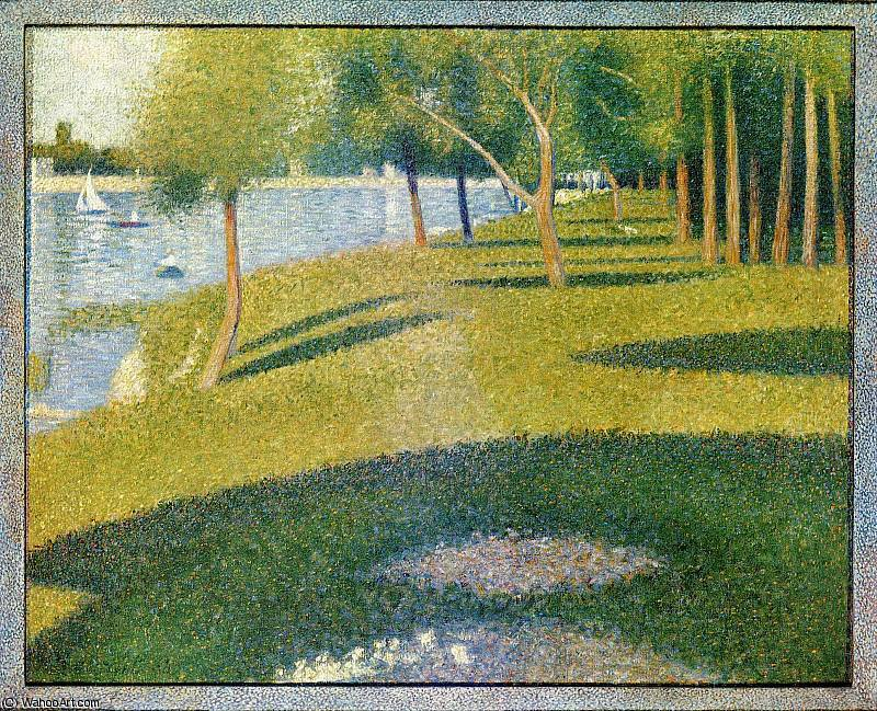 famous painting untitled (9458) of Georges Pierre Seurat
