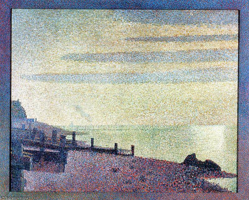 famous painting untitled (2612) of Georges Pierre Seurat