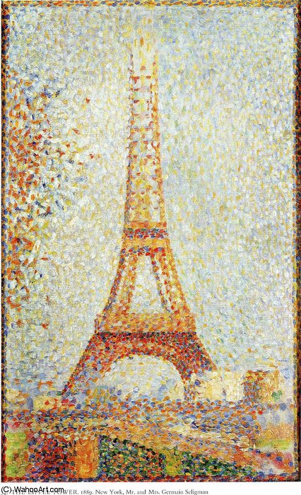 famous painting untitled (1662) of Georges Pierre Seurat
