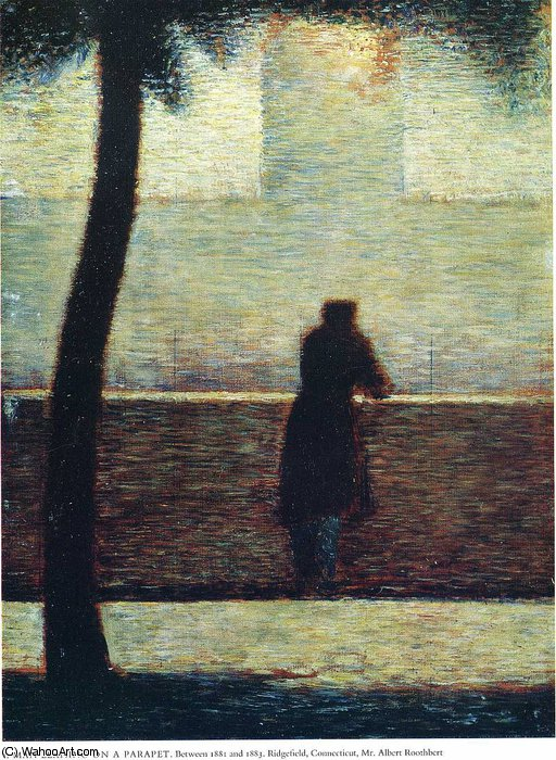 famous painting untitled (510) of Georges Pierre Seurat