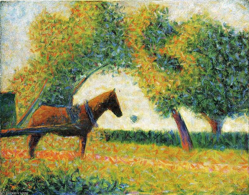 famous painting untitled (931) of Georges Pierre Seurat