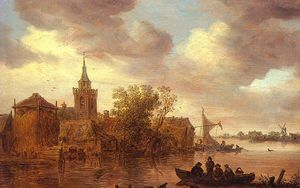Jan Van Goyen - untitled (8285)
