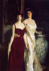 John Singer Sargent - Ena and Betty Daughters of Asher and Mrs. Wertheimer