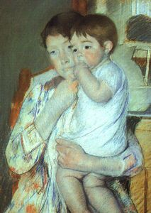 Mary Stevenson Cassatt - untitled (6989)