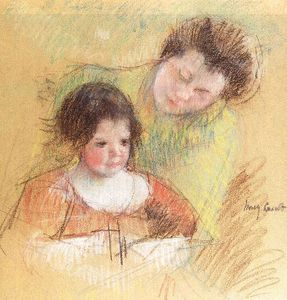 Mary Stevenson Cassatt - untitled (6156)