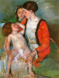 Mary Stevenson Cassatt - untitled (864)