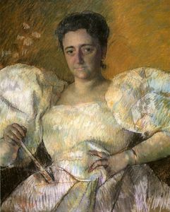Mary Stevenson Cassatt - louisine w. havemeyer