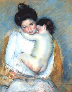 Mary Stevenson Cassatt - mother and child