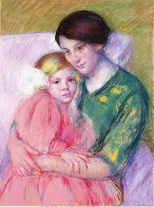 Mary Stevenson Cassatt - Mother and Child Reading