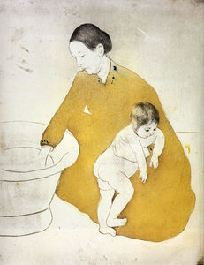 Mary Stevenson Cassatt - the bath