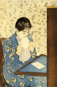 Mary Stevenson Cassatt - the letter