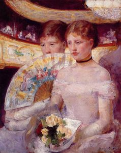 Mary Stevenson Cassatt - Two Women in a Theater Box