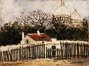 Maurice Utrillo - Sacre Coeur Montmartre nd Barnes foundation
