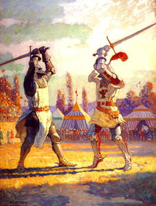 Nc Wyeth - sir nigel sustains englands honor